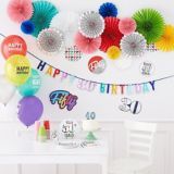 Here's to 40 Birthday Balloons, 15-pk | Amscannull