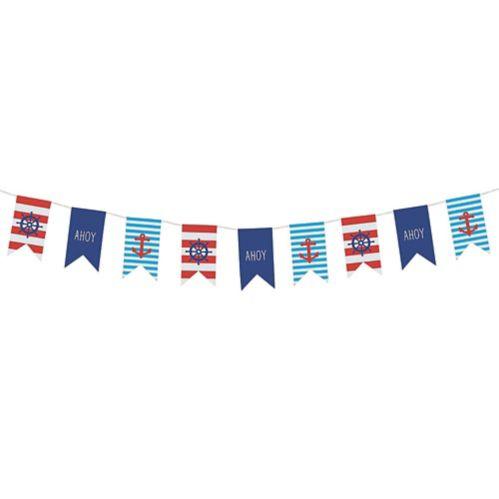 Nautical Pennant Banner