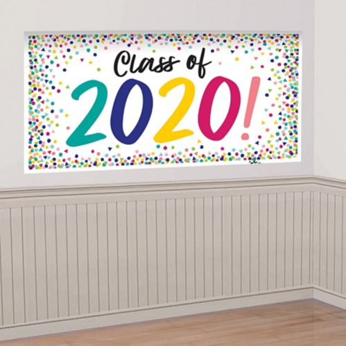 Yay Grad Class of 2020 Graduation Banner