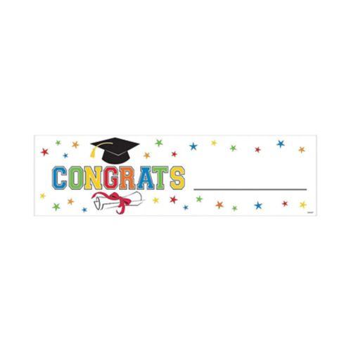 Congrats Graduation Banner
