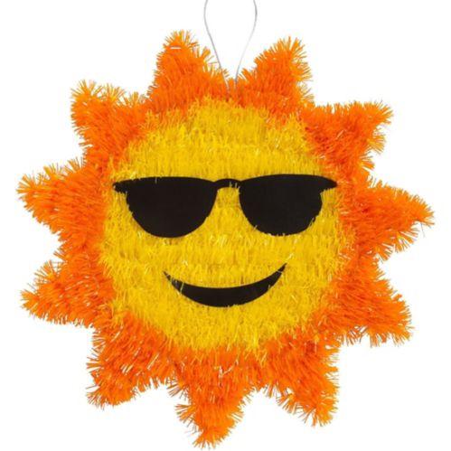 Hanging Tinsel Sun