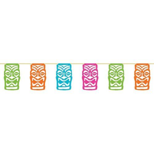 Banderole de drapeaux Tiki