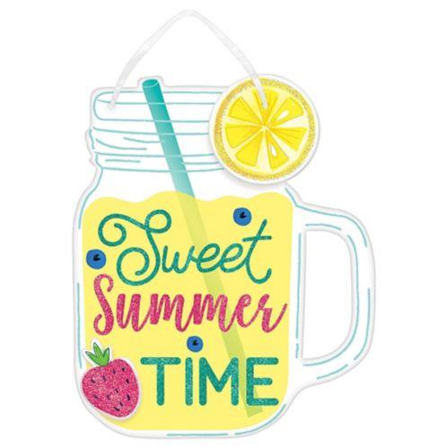 Glitter Sweet Summer Time Lemonade Sign