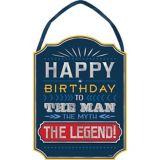 Affiche Happy Birthday Vintage