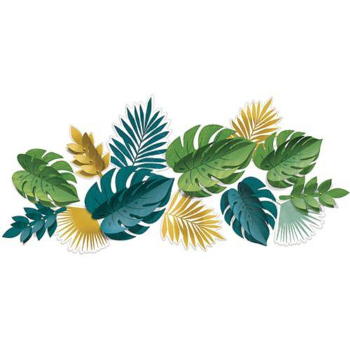 Key West Palm Leaf Cutouts, 13-pc
