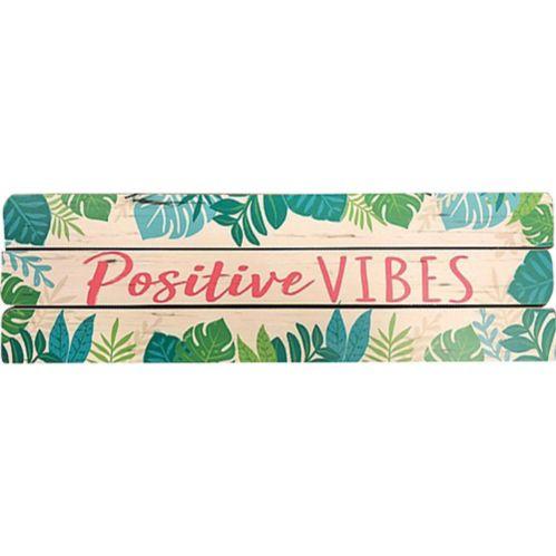 Affiche Bloc Positive Vibes