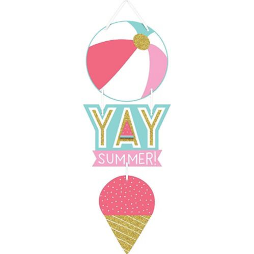 Yay Summer Stacked Sign Product image
