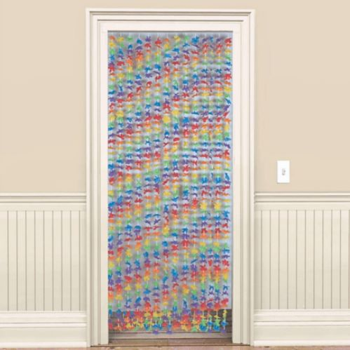 Party Flower Doorway Curtain