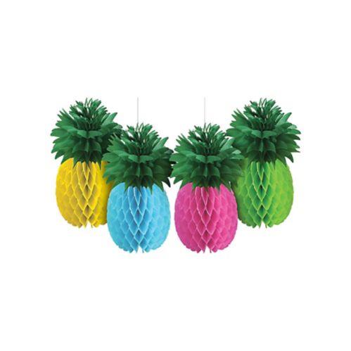 Pineapple Honeycomb Balls, 4-pc