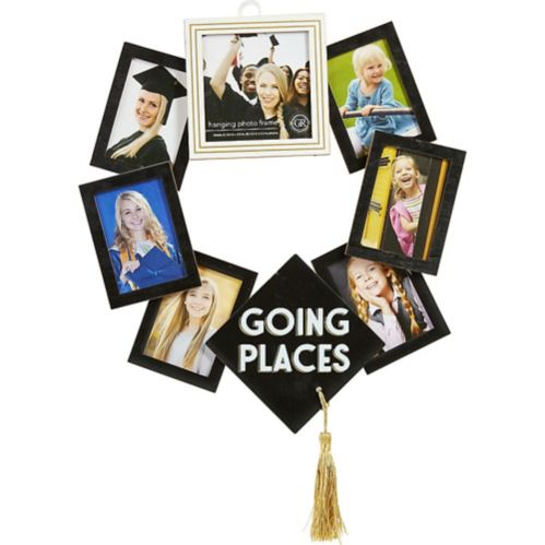 Graduation Photo Frame Wreath