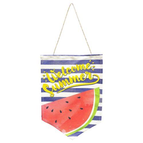 Hello Summer Fabric Sign