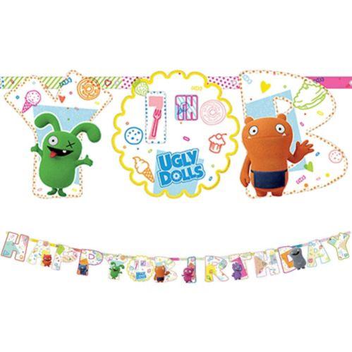UglyDolls Birthday Banner Kit