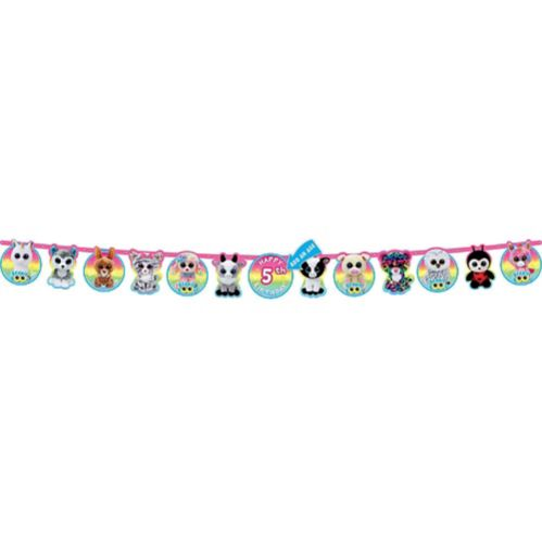 Beanie Boo's Birthday Banner Kit Product image