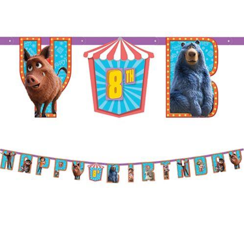 Banderole d'anniversaire Le Parc des merveilles