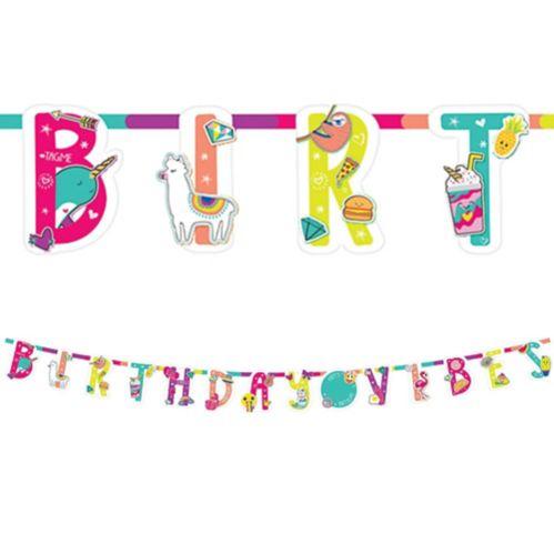 Selfie Celebration Birthday Banner Kit