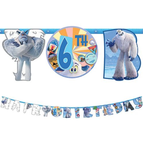 Smallfoot Birthday Banner Kit