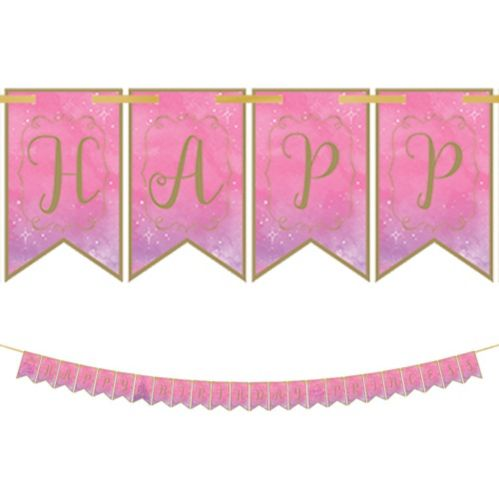 Disney Once Upon a Time Birthday Pennant Banner Product image
