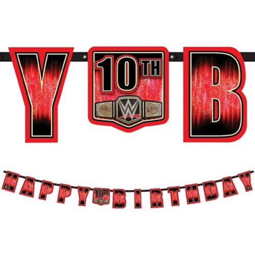 Banderole géante avec âge à personnaliser, Champion de la WWE