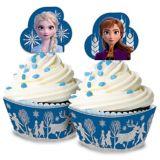 Glitter Frozen 2 Cupcake Kit for 24