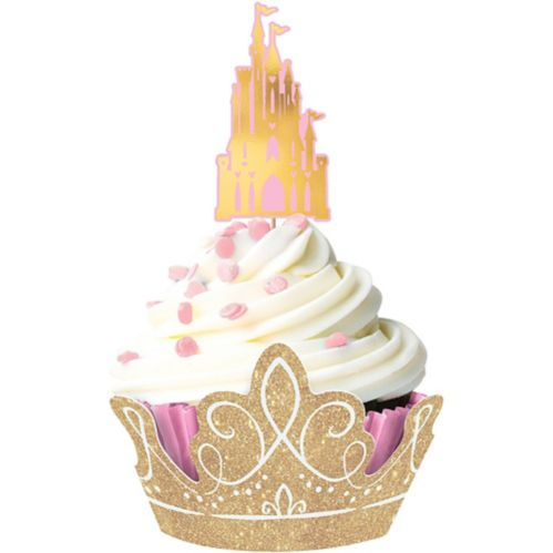 Glitter Disney Once Upon a Time Cupcake Kit for 24