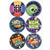 Slither.io Stickers, 4-pk   Amscannull