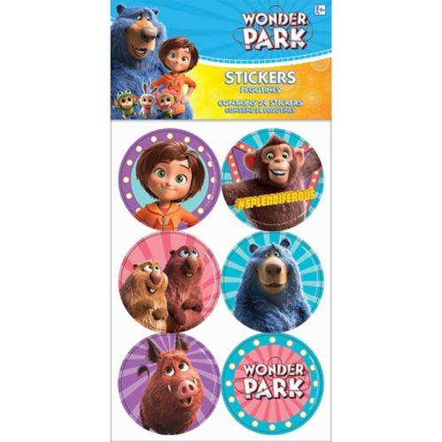 Wonder Park Stickers, 4-pk