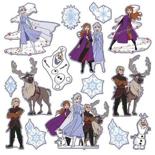 Frozen 2 Puffy Stickers