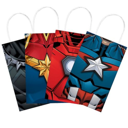 Marvel Powers Unite Create Your Own Favour Bag Kit, 8-pk