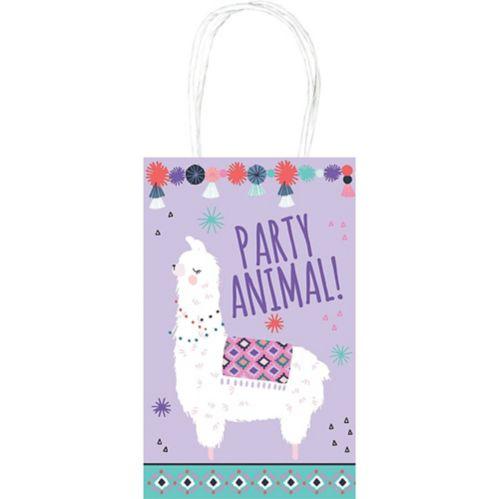 Llama Fun Kraft Bags, 8-pk