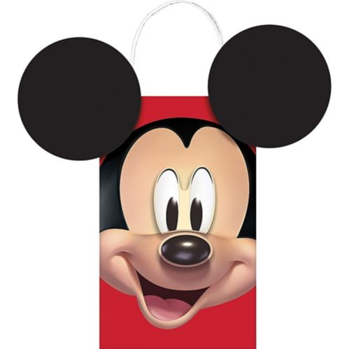 Mickey Mouse Forever Create Your Own Favour Bag Kit, 8-pk