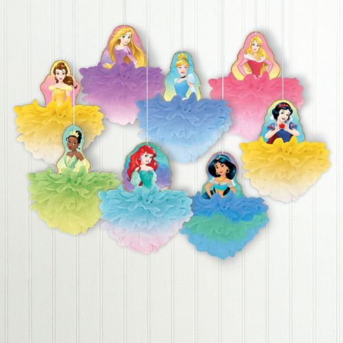 Disney Once Upon a Time Tissue Pom Poms, 8-pc