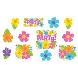 Hibiscus Party Cutouts, 12-pc