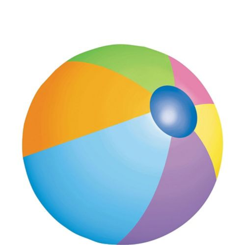 Beach Ball Cutout