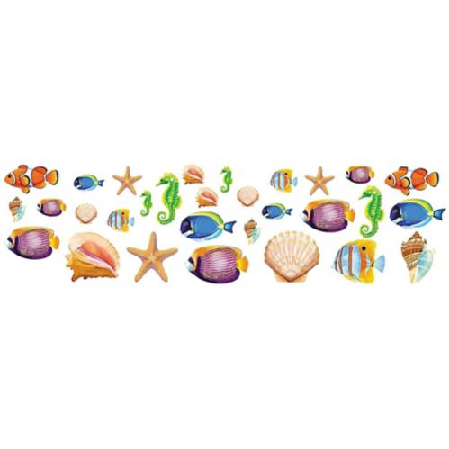 Sea Life Cutouts, 30-pc
