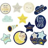 Twinkle Twinkle Little Star Cutouts, 12-pc