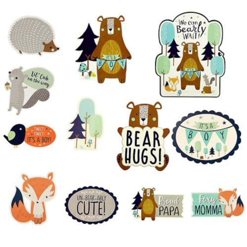 Can Bearly Wait Cutouts, 12-pc