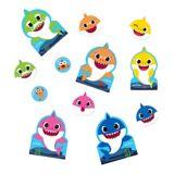 Baby Shark Cardstock Cutouts, 12-pc
