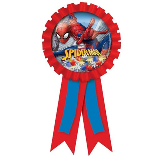 Spider-Man Webbed Wonder Award Ribbon