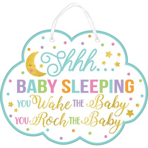 Glitter Baby Sprinkle Baby Shower Sign