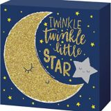 Twinkle Twinkle Little Star Block Sign