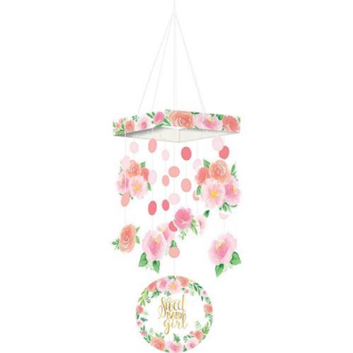 Mobile Bébé floral