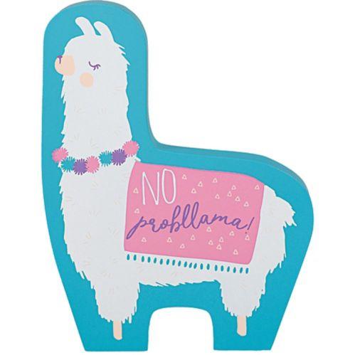 Mini Standing Llama Fun Sign