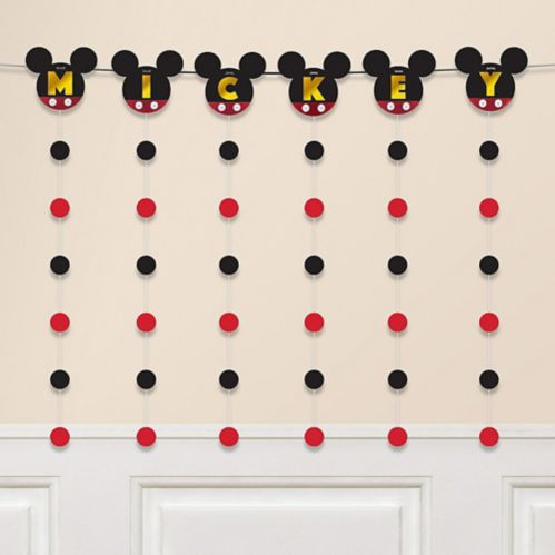 Mickey Mouse Forever String Garland Kit, 7-pc
