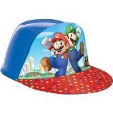 Chapeau en plastique Super Mario   Amscannull