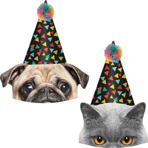 Over the Hill Party Hats, 8-pk