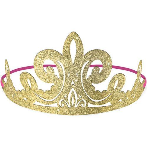 Glitter Disney Once Upon a Time Tiaras, 8-pk