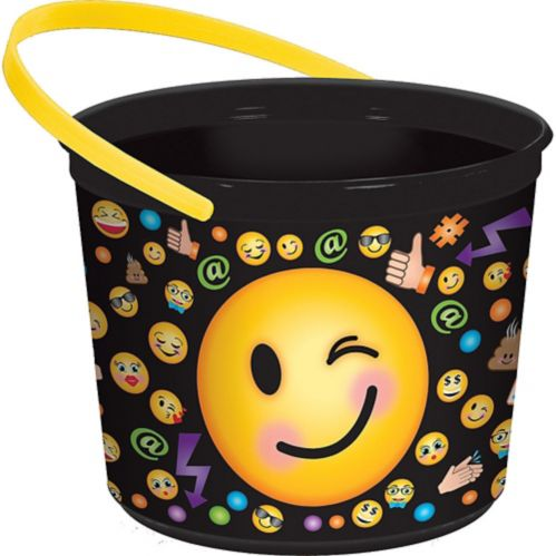 Smiley Favour Container