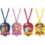 PAW Patrol Adventures Thank You Tags, 8-pk | Amscannull