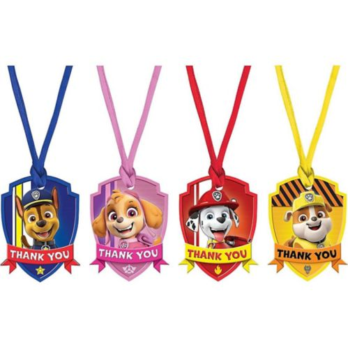PAW Patrol Adventures Thank You Tags, 8-pk