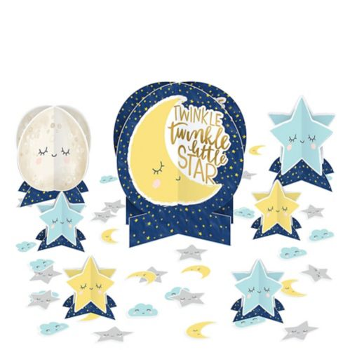 Twinkle Twinkle Little Star Table Decorating Kit, 27-pc
